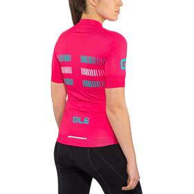 Alé Cycling Graphics PRR Strada Maillot de cyclisme à manches courtes Femme, petroleum-turquoise